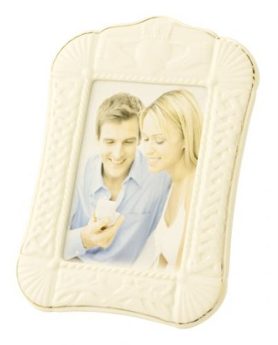 Belleek Claddagh 5 x 7 Photo Frame